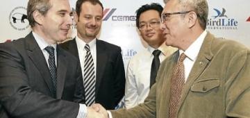マレーシアCEMEX、MNS、バードライフ・インターナショナルの間で合意書が署名されました。