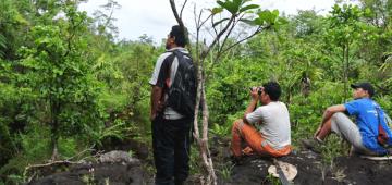 サモア自然資源・環境省の研究者の活動の報いとなる成功