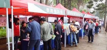 大成功を収めた中国本土での第1回国際バード・フェア写真提供:Simba Chan