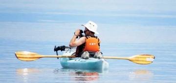 リバートン・サンディバーIBAのモニタリングを行っている'IBA管理人'写真提供:Donna Martin