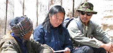 この新しいアプローチではネパール国内のIBAネットワークの専門家を利用し、地元の知識と科学的知見を結びつけます。写真提供:David Thomas; BirdLife