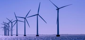 洋上風力発電施設 写真提供: (c) Ewea, Flickr