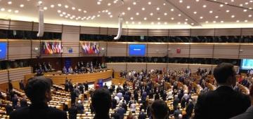 ブリュッセルの欧州議会会議場